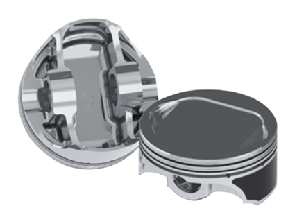 Picture of KEITH BLACK FORGED PISTON SETS FOR BIG TWIN & SPORTSTER
