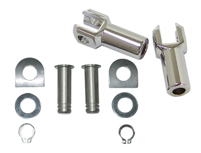 Picture of V-FACTOR PASSENGER FOOTREST SUPPORTS FOR BIG TWIN & SPORTSTER