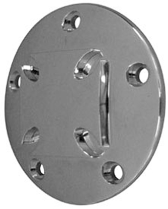 Picture of V-FACTOR MALTESE CROSS TIMER COVERS FOR BIG TWIN & SPORTSTER