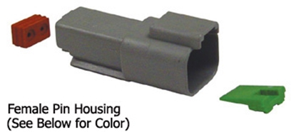 Picture of DEUTSCH ELECTRICAL CONNECTORS FOR 16/18 GAUGE WIRE