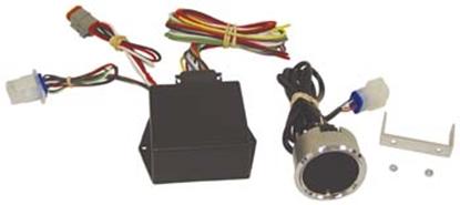 Picture of 3000 SERIES DIGITAL SPEEDOMETER/TACHOMETER FOR  CUSTOM HANDLEBAR USE
