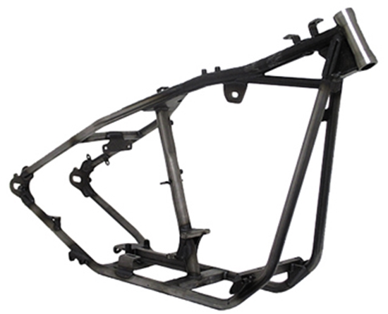 MID-USA Motorcycle Parts. BOBBER STYLE RIGID FRAMES FOR BIG TWIN