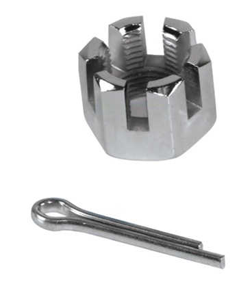 Picture of V-FACTOR CASTLE NUTS & COTTER PINS