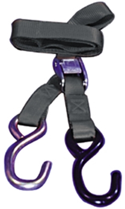 "Picture of V-FACTOR 1"" WIDE TIE DOWN STRAPS FOR TRANSPORTING MOTORCYCLES"