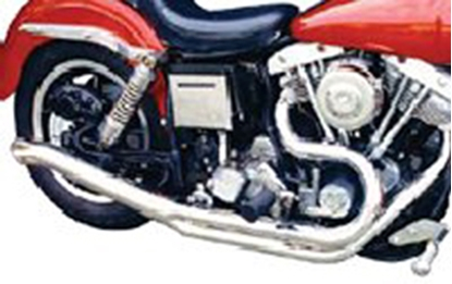 Picture of 2 INTO 1 COLLECTOR TURNOUT EXHAUST SYSTEM FOR FX SHOVELHEAD MODELS