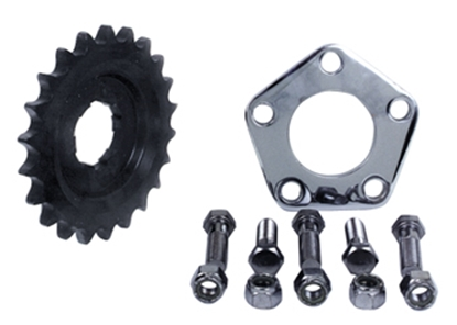 Picture of OFFSET TRANSMISSION SPROCKET KIT FOR BIG TWIN 4 SPEED