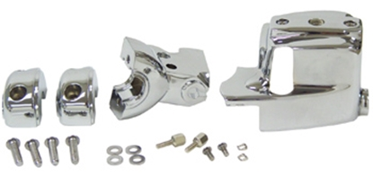 Picture of V-FACTOR HANDLEBAR CONTROL COVER KIT FOR BIG TWIN & SPORTSTER
