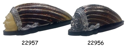 Picture of INDIAN HEAD FENDER ORNAMENTS FOR CUSTOM USE