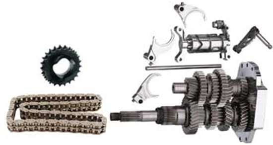 MID-USA Motorcycle Parts  DIRECT DRIVE 6 SPEED BUILDERS KITS FOR BIG