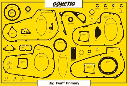 Picture of BIG TWIN PRIMARY GASKET, SEAL & O-RING DISPLAY AND RELATED GASKETS