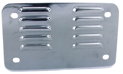 Picture of V-FACTOR LOUVERED LICENSE BACKING PLATE