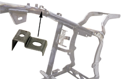 Picture of FRAME BRACKETS FOR BIG TWIN & CUSTOM USE