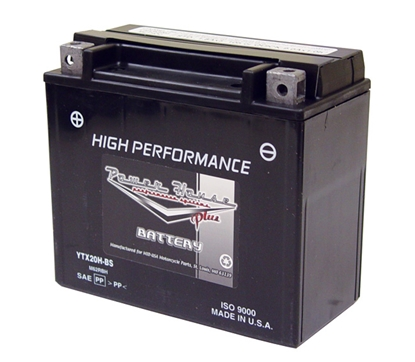 Picture of POWER HOUSE PLUS MAINTENANCE FREE BATTERIES FOR 12 VOLT MODELS - YTX20H-BS - 310 CCA