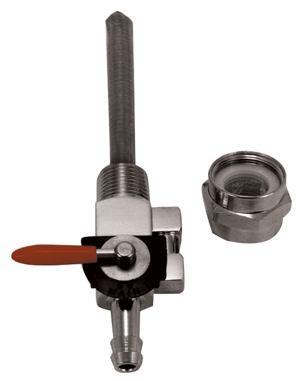 MID-USA Motorcycle Parts. HIGH FLOW FUEL VALVE KITS FOR EARLY & LATE