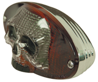 Picture of V-FACTOR 12 VOLT SKULL CATEYE TAILLIGHT FOR CUSTOM USE