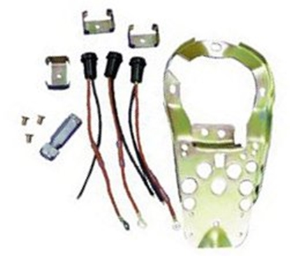 Picture of V-FACTOR DASH BASE MOUNTING PLATE KIT FOR 3 LIGHT STYLE DASH