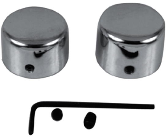MID-USA Motorcycle Parts  AXLE NUT COVER KITS FOR BIG TWIN