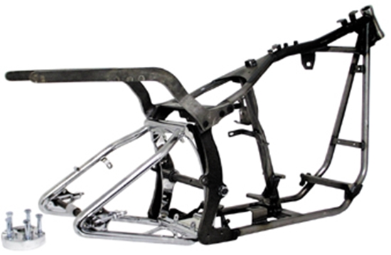 MID-USA Motorcycle Parts. SOFTAIL STYLE FRAMES FOR WIDE TIRE TWIN