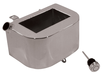 Picture of V-FACTOR CUSTOM HORSESHOE OIL TANK FOR BIG TWIN 4 SPEED