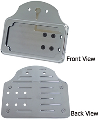 Picture of V-FACTOR CATEYE SIDE MOUNT LICENSE BACKING PLATES & HINGE MOUNTS FOR CUSTOM USE