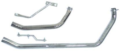 Picture of HEAD PIPE EXHAUST SET FOR SHOVELHEAD 1970/LATER
