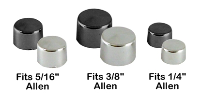 Picture of HARDWARE BOLT CAPS FOR ALLEN HEAD SCREWS