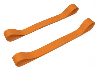 """Picture of 1 1/2"""" WIDE SOFT-TIE PAIR FOR TRANSPORTING MOTORCYCLES"""