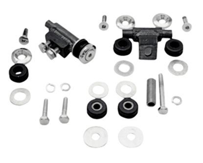 Picture of V-FACTOR FLATSIDE FAT BOB GAS TANK MOUNTING KIT FOR BIG TWIN