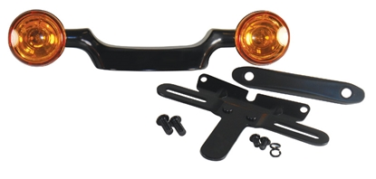 Picture of V-FACTOR BULLET TURN SIGNAL BAR & LICENSE PLATE RELOCATION KIT FOR BIG TWIN