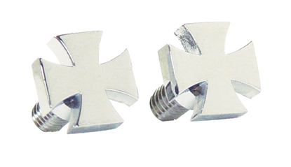 Picture of V-FACTOR MALTESE CROSS FASTENERS FOR ALL MOTORCYCLES
