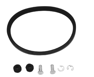 V-Factor Solid Mount Adapter Kit for Handlebar Risers 41349
