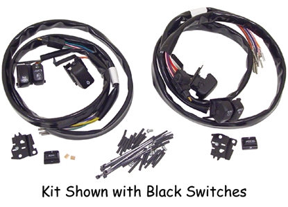 Picture of V-FACTOR HANDLEBAR SWITCH WIRING KITS FOR TOURING MODELS