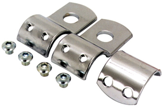 MID-USA Motorcycle Parts. V-FACTOR FRAME CLAMPS FOR UNIVERSAL USE