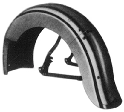 Picture of V-FACTOR OE STYLE RIGID REAR FENDER FOR BIG  TWIN