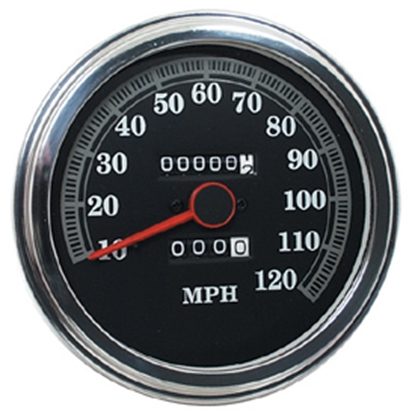 Picture of V-FACTOR 2240:60 RATIO FAT BOB SPEEDOMETERS FOR FXWG & SOFTAIL MODELS