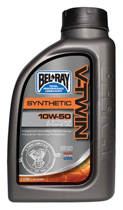 Picture of BEL-RAY SYNTHETIC V-TWIN MOTOR OIL