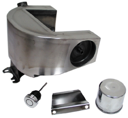Picture of HORSESHOE OIL TANKS FOR BIG TWIN 4 SPEED