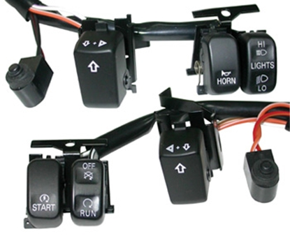 Picture of V-FACTOR HANDLEBAR SWITCH WIRING KITS FOR BIG  TWIN & SPORTSTER 2007/LATER