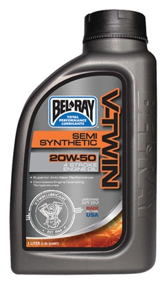 Picture of BEL-RAY SEMI-SYNTHETIC V-TWIN MOTOR OIL