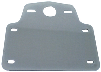 Picture of LICENSE BACKING PLATE WITH TAILLIGHT MOUNT FOR CUSTOM USE