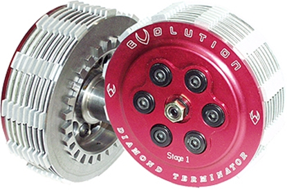 Picture of STAGE 1 DIAMOND TERMINATOR CLUTCH KITS FOR BIG  TWIN & SPORTSTER