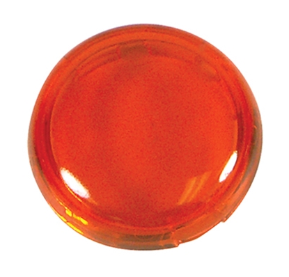 Picture of BULLET TURN SIGNAL LENS AMBER
