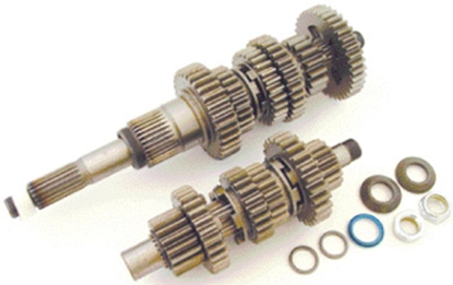 Picture of POWER HOUSE 6 SPEED GEAR SET FOR BIG TWIN