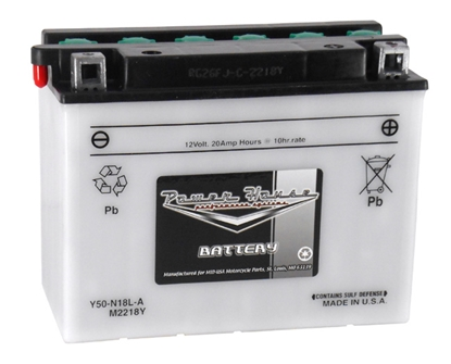 Picture of POWER HOUSE 12 VOLT LEAD ACID BATTERIES FOR ALL MODELS - 260 CCA