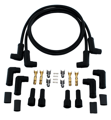 Picture of 10.4 MM SPARK PLUG WIRE SETS FOR BIG TWIN  & SPORTSTER