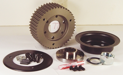 Picture of 8MM BOLT-IN ENCLOSED PRIMARY BELT DRIVE KITS WITH CLUTCH FOR BIG TWIN 4 & 5 SPEED MODELS