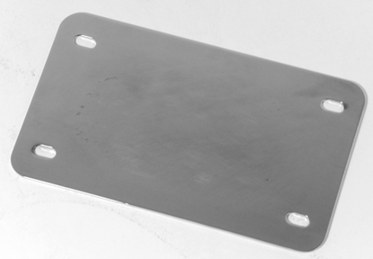 Picture of FLAT LICENSE BACKING PLATE