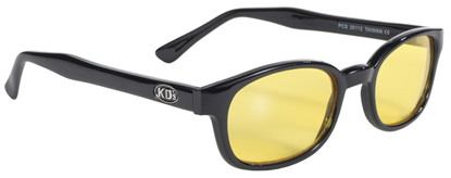 Picture of X-KD SUNGLASSES -  YELLOW LENS
