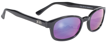 Picture of X-KD SUNGLASSES - COLORED MIRROR LENS