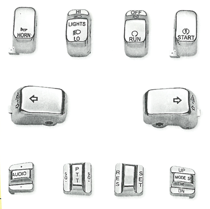 Picture of CHROME SWITCH CAP KIT